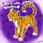 a little tiger by Tabia