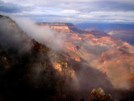 Storm breaks at Grand Canyon 2 by Geotripper