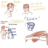 Generator Rex doodles by Crazy-Brave-Girl