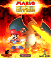 Mario and Charizard - Flames of Teamwork Poster by KingAsylus91