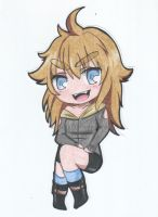 Trad.12: CHIBI KOHANA (as a vampy?) by kohachii