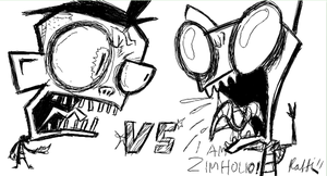 Dibraeg vs Zimholio by InvaderRaf