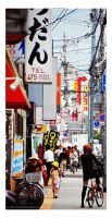 Streets of Osaka by fotocraft