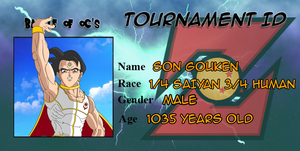 Son Gouken Battle of OC ID + Bio by Sonkai912