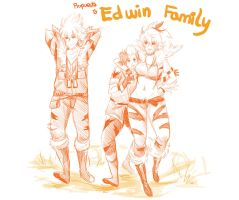 Edwin family by Sparkly-Monster
