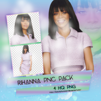 PNG Pack(260) Rihanna by BeautyForeverr