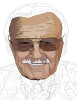Stanlee Pen work 2 by daylover1313