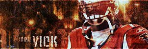 Mike Vick Grunge by Leon-GFX