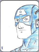 DEC Captain America by s133pDEADart