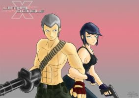 LETHAL DOUBLE: Cath X Bryan by pommegenozide