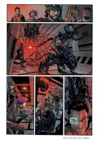 Aliens test page 2 colours! by andrearsandbabs