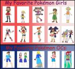My Favorite Pokemon Girls - Updated by ChipmunkRaccoon2