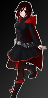 RWBY - Ruby Rose by theklocko