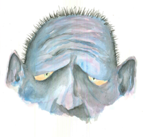 Old Blue-face - REDUX by BeckettGrice