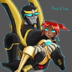 Prowl and Sari by Hyeonhyaang