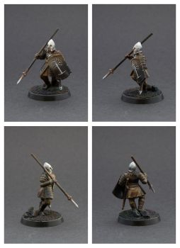 Warriors of Minas Tirith - Spearman by Colorfulsavage