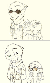 [Zootopia] Cheese and Crackers... by EmberLarelle276