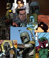 Collage of Boba Fett by LadyIlona1984