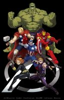 Skratchwork Avengers ASSEMBLE Jam by FooRay