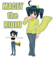 PKMN: Macey by TheShinyFurfrou