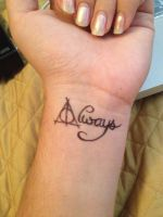 Harry Potter tattoo by la-sirena