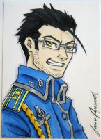 Hughes ACEO by JPepArt