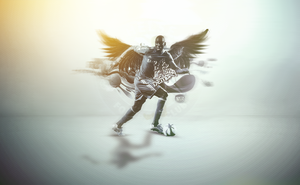 Demba Ba by destroyer53
