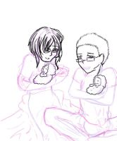 Family Additions WIP by catseathedevil