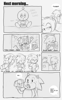 Sonic got Amy Pregnant Pg 65 by sonicxamy09