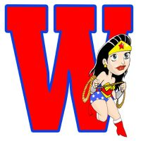 W is for Wonder Woman by norrit07