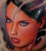 Adriana by redliontattoo