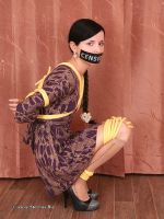 Marvita - tied up with yellow rope 07 by Stervus