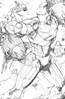 Iron Man 2013 Pencils by hanzozuken