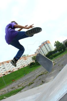 Some tricks on sk8 by canoniak