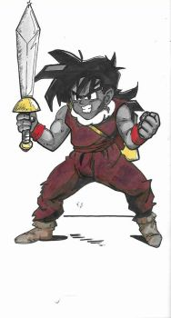 Sword Gohan by GOLDmouseTRAP