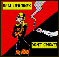 All Hallows Eve Smoking PSA by ivy7om