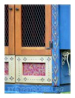 Gypsy Vardo Doors close up by che4u