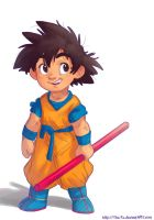 Baby Goku by The-Ez