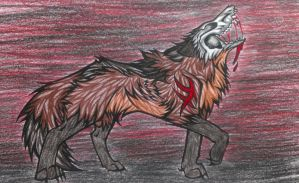 The Skull Wolf by FrayWolf117