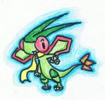 Chibi Flygon by excabluir