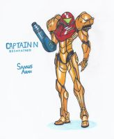 Captain N: Re Samus Aran by WMDiscovery93