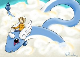 Flying Dragonair by VibaFleischer
