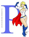 P is for Powergirl by Inspector97