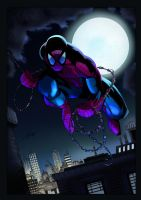 Spidey-INK by Viktor Bogdanovic-colors by s-iRON by s-iRON