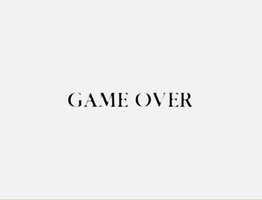Game Over 4 by Diretooth