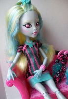 Monster High Custom Lagoona Scaris Doll 2 by AdeCiroDesigns