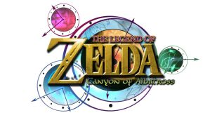 Zelda: Canyon of Albatross Logo (White BG) by AzureParagon
