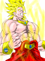 The Legendary Super Saiyan by UniGalvacron