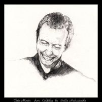 Chris Martin from Coldplay by asemo
