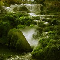 Waterfall Wonderland by Lunia-Stock